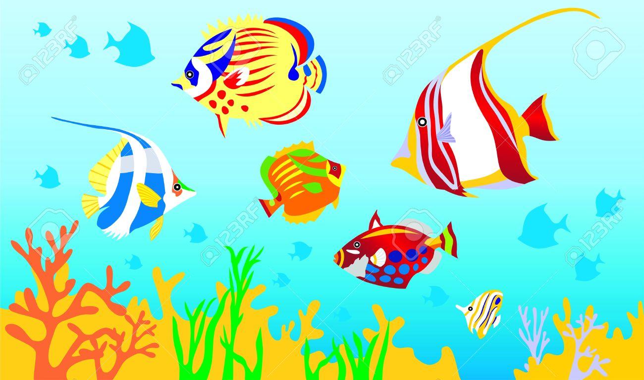 Ocean fish clipart 5 » Clipart Station.