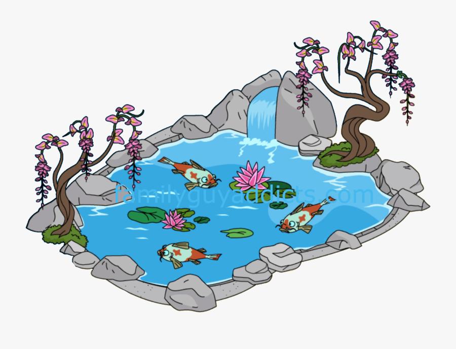 Pond Clipart Koi Pond.