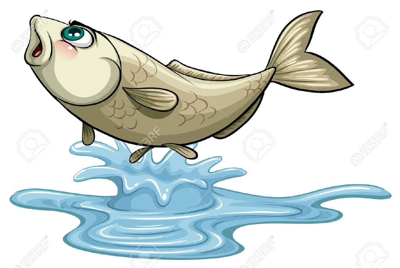 Fish in water clipart 2 » Clipart Station.