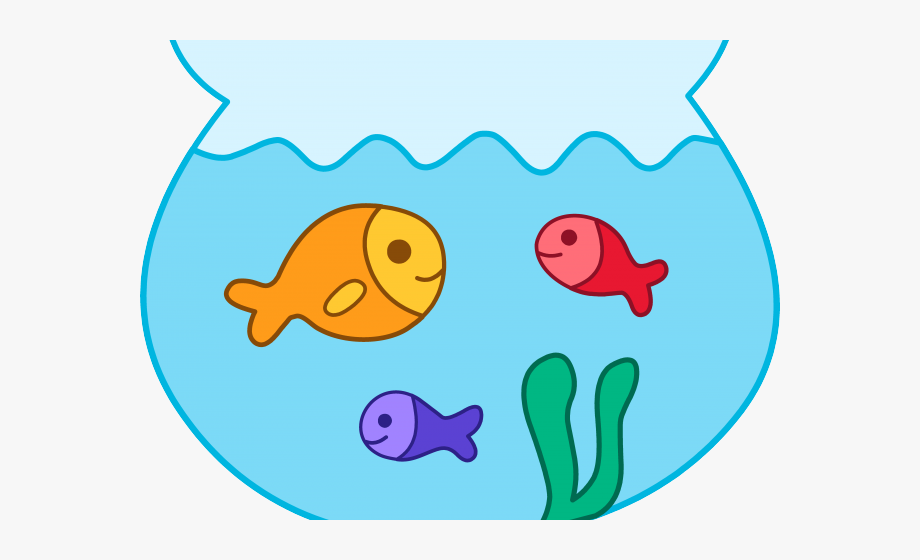 Gold Fish Clipart Fruit Bowl.