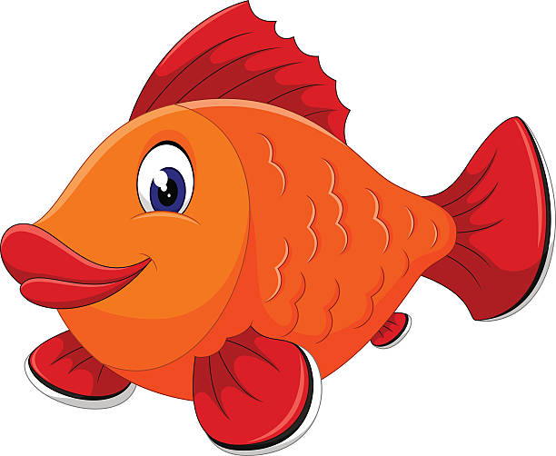 Best Cartoon Of The Fish With Lips Illustrations, Royalty.