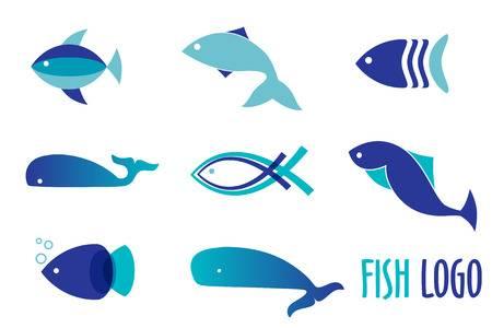 18,118 Fish Logo Stock Vector Illustration And Royalty Free Fish.