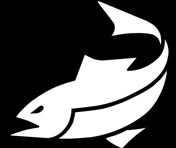 Black Fish Logo 2 Clip Art at Clker.com.