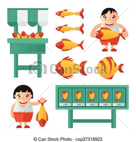 Fish market Illustrations and Stock Art. 3,837 Fish market.