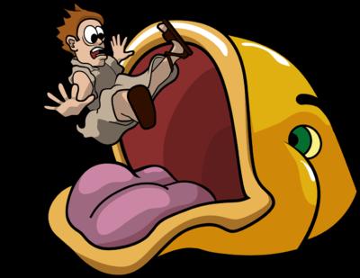 Image: Jonah Swallowed by Fish.