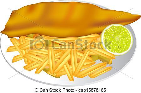 Fish and chips clipart 2 » Clipart Portal.
