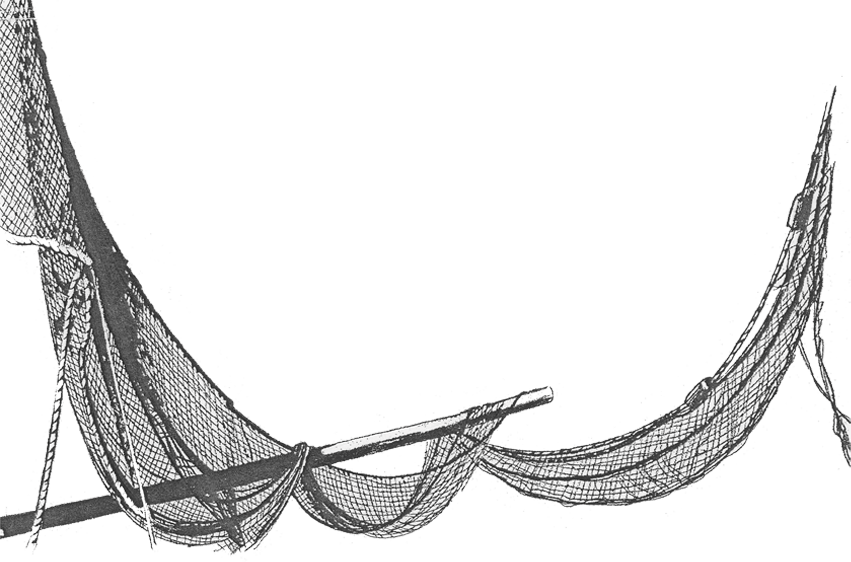 Fishing Net Clipart transparent PNG.