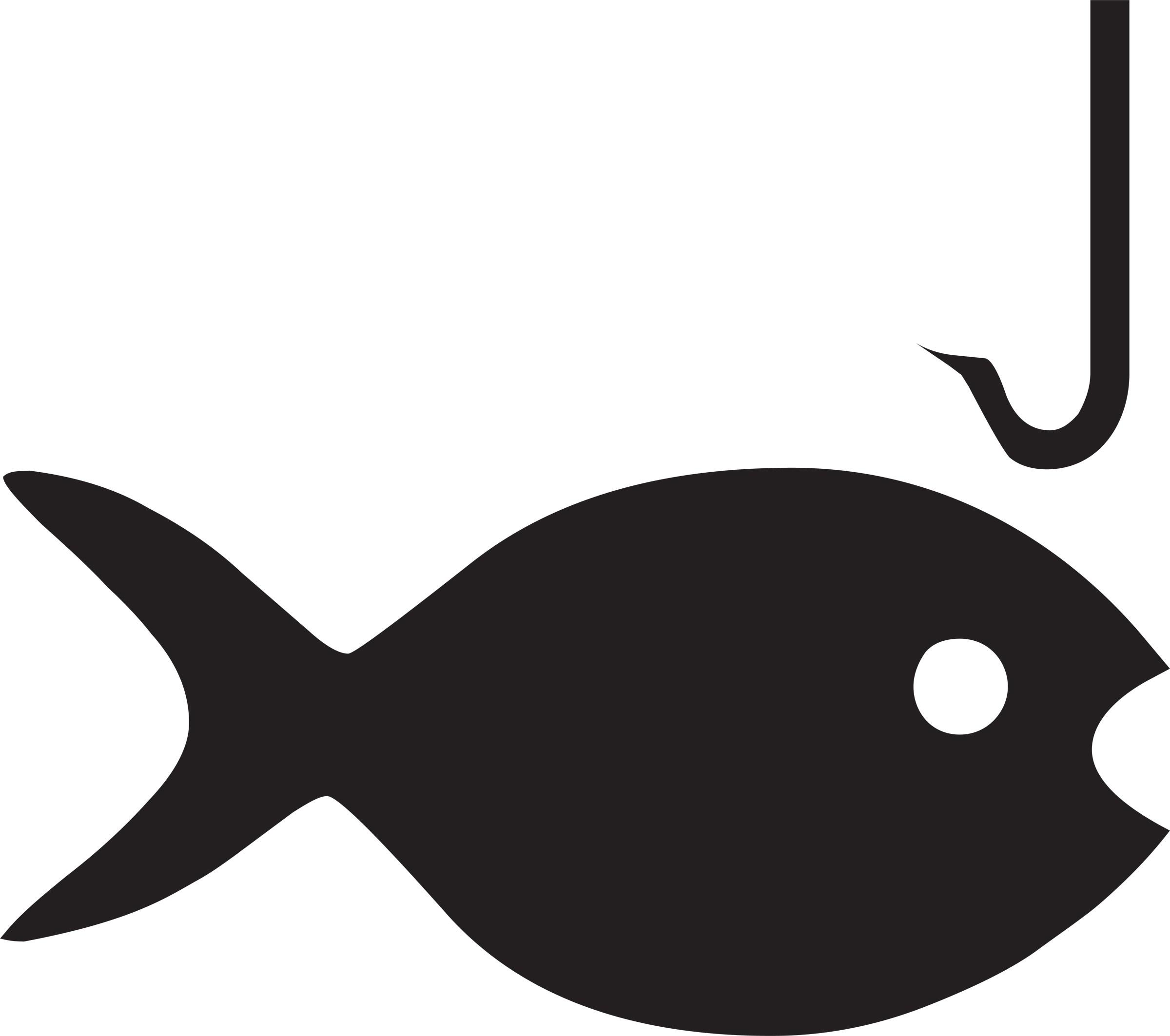 Fish on a hook clipart 8 » Clipart Portal.