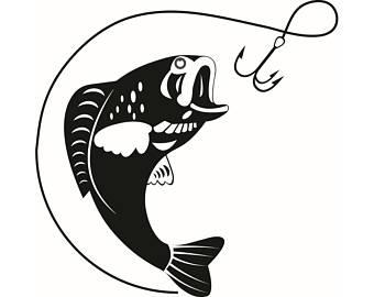 Fish Hook Clipart.