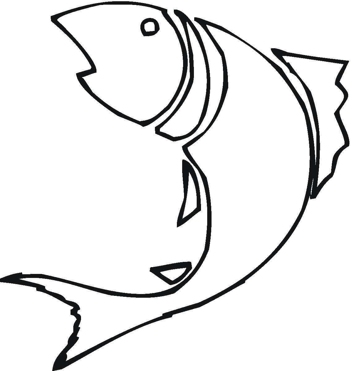 Free Fish Line Drawings, Download Free Clip Art, Free Clip.