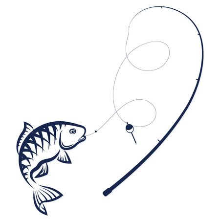 11,444 Fishing Rods Stock Vector Illustration And Royalty Free.