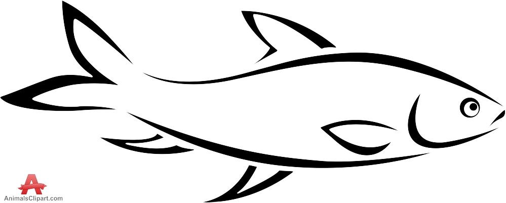 Fish Outline Clipart & Fish Outline Clip Art Images.