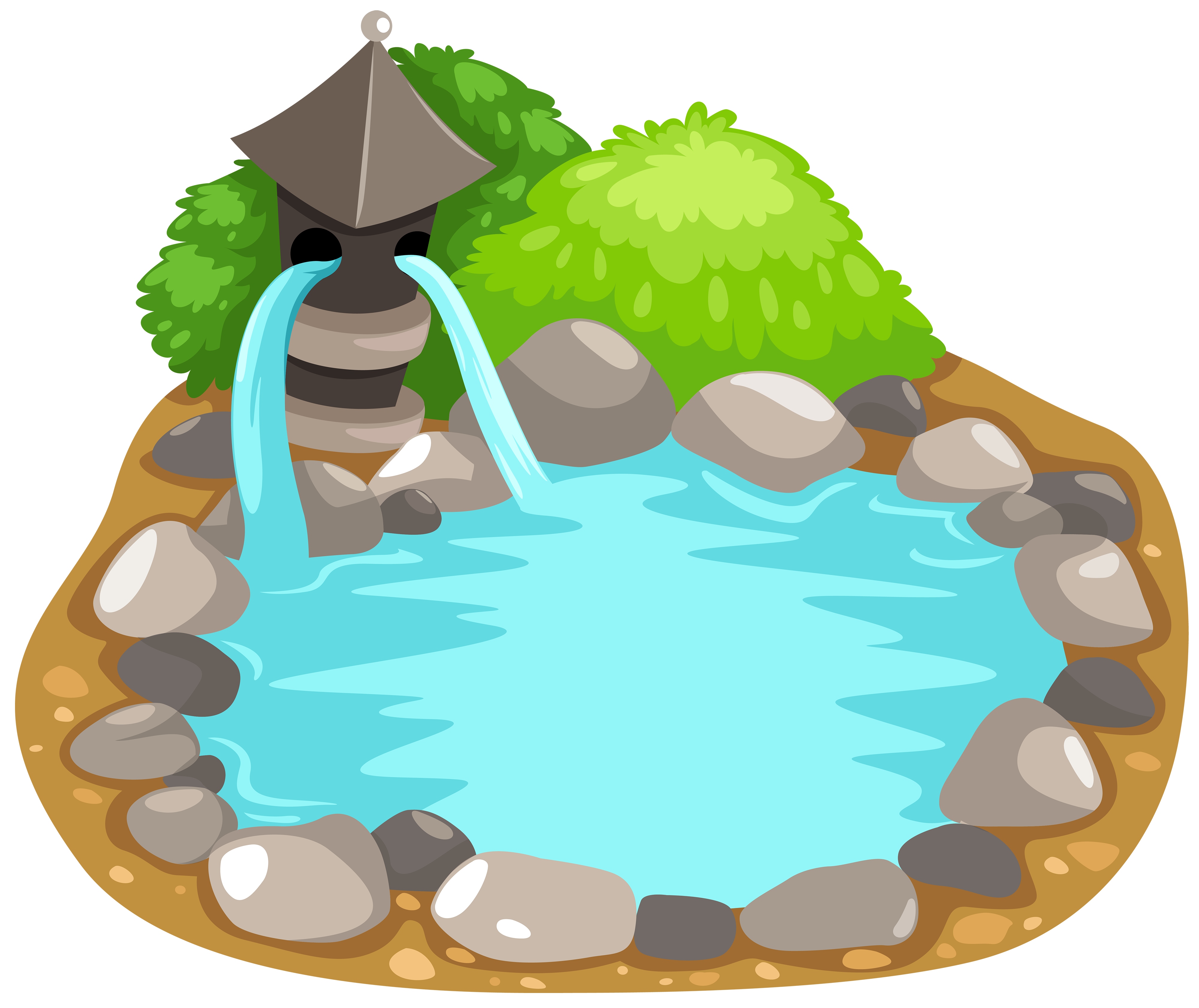 Pond fish clipart.