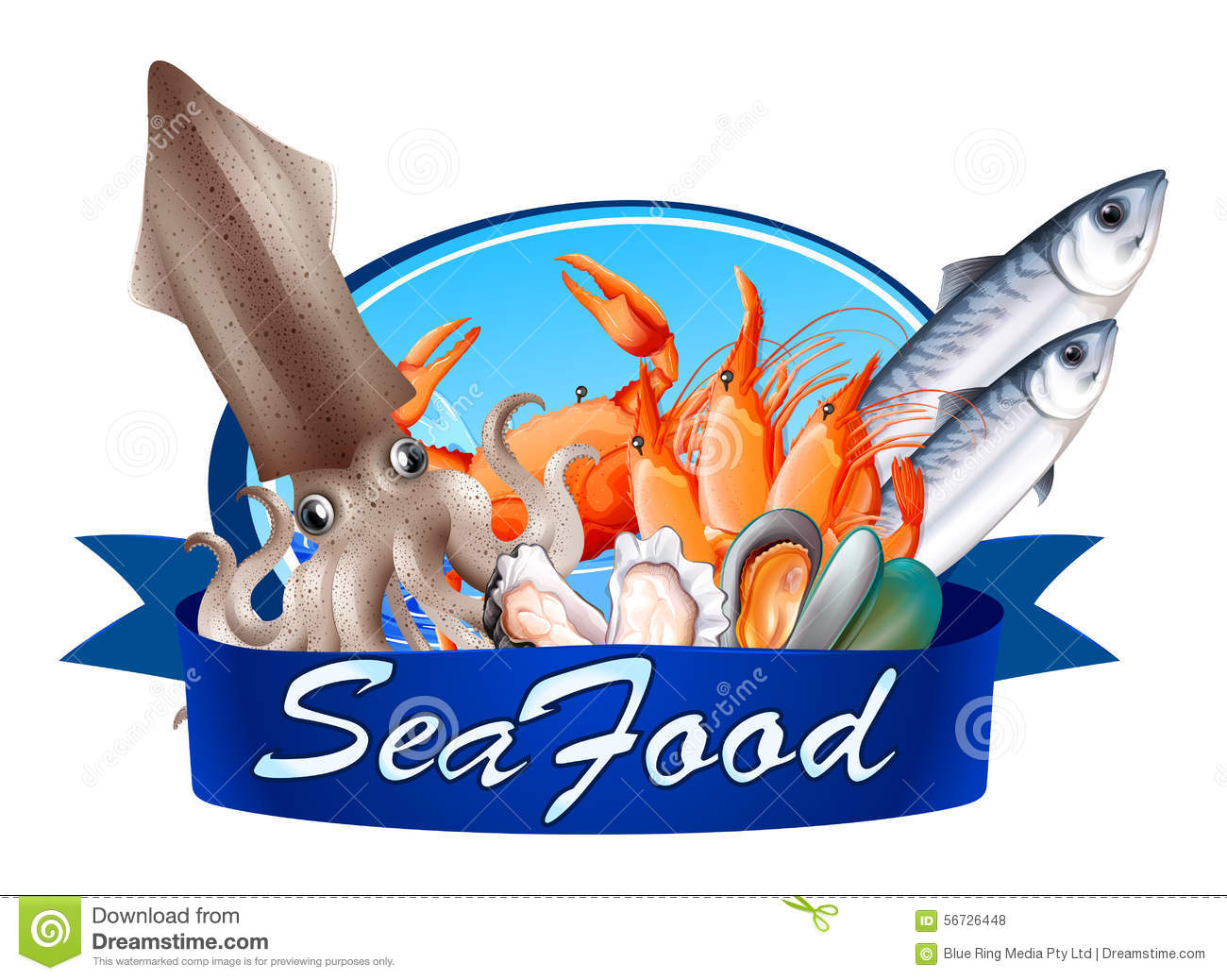fish restaurant clipart