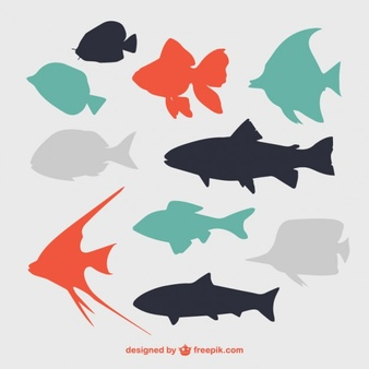 Fish Silhouette Vectors, Photos and PSD files.