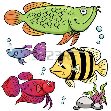 49,762 Cartoon Fish Stock Vector Illustration And Royalty Free.