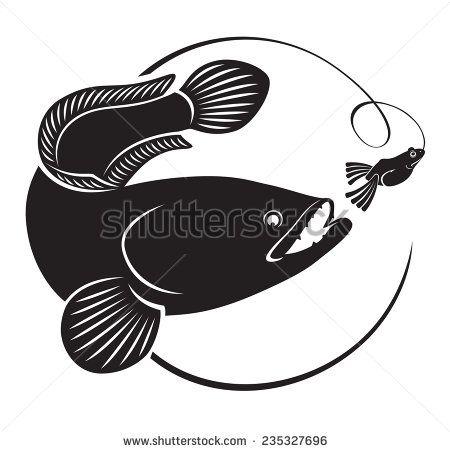 Snakehead Fish Stock Vectors & Vector Clip Art.
