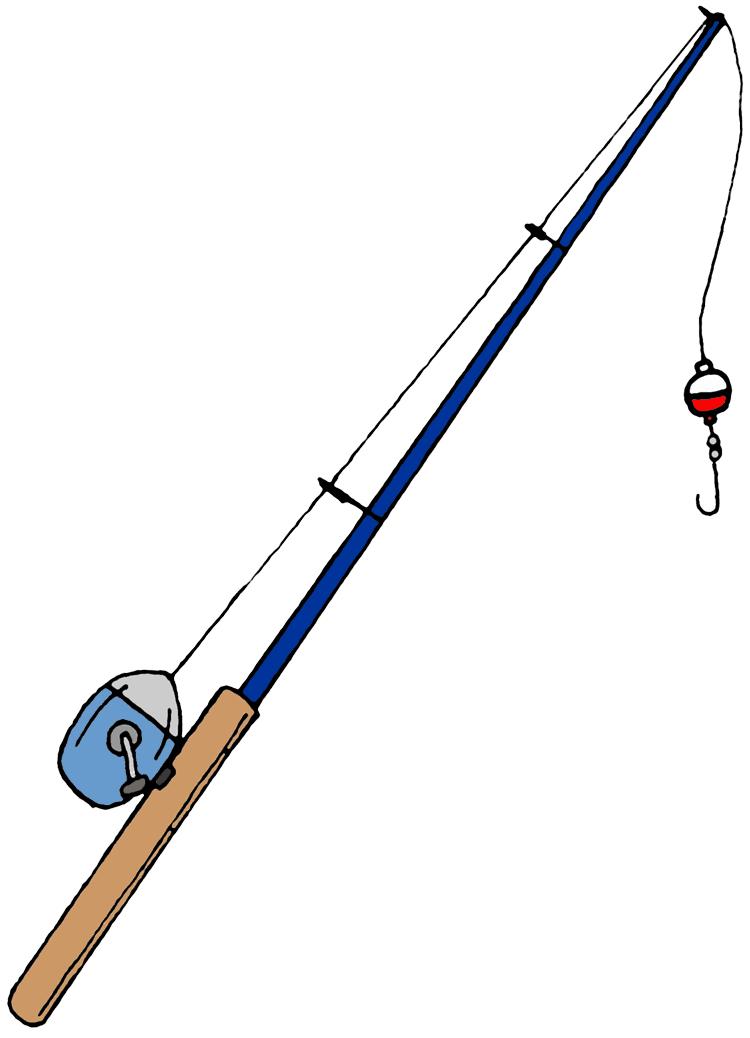 Fishing Pole Clipart.