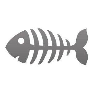 Fish Bone Clipart.