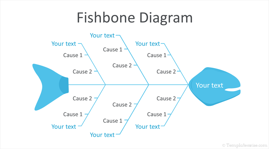 Fishbone Diagram PowerPoint Template.