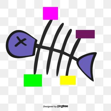 Fishbone PNG Images.