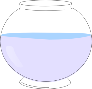 Fish Bowl Clipart.