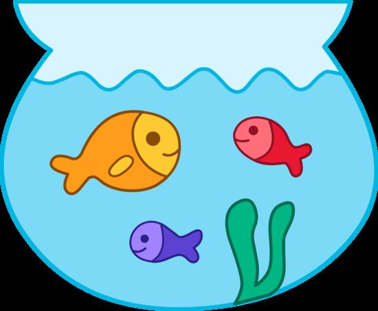 Clip art fish bowl.
