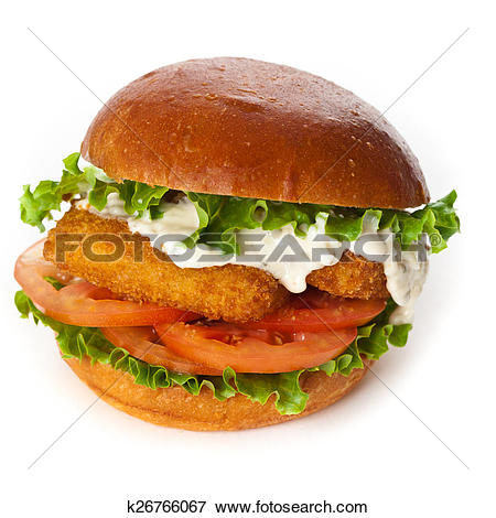 Picture of Fish burger k26766067.