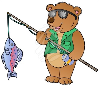 Fisher man clipart.