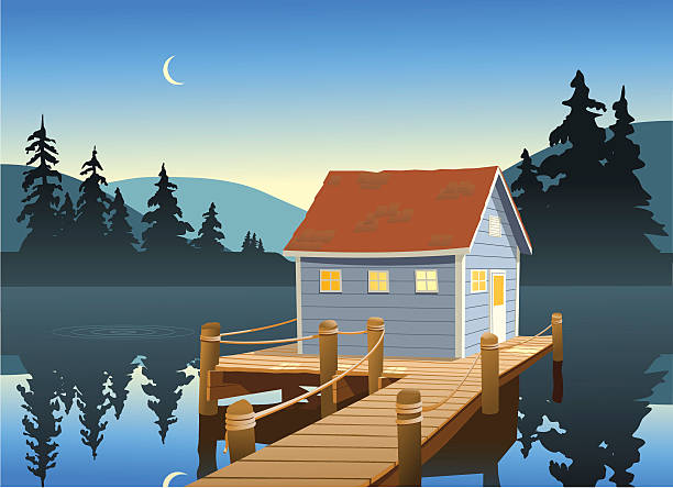 Fisher Hut Clip Art, Vector Images & Illustrations.