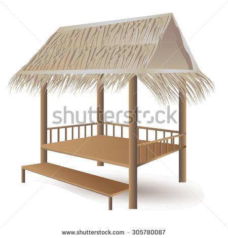 Thai Beach Hut Stock Images, Royalty.