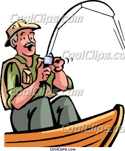 Fisherman Clipart.