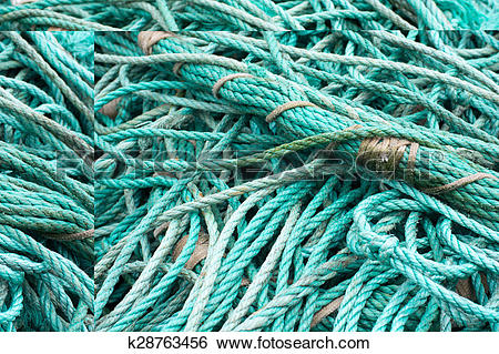 Stock Images of Fisher net background k28763456.