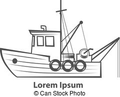 Fisherman Boat Clipart Clipground