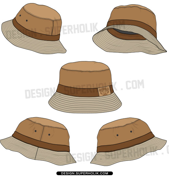 Fisherman cap clipart #10