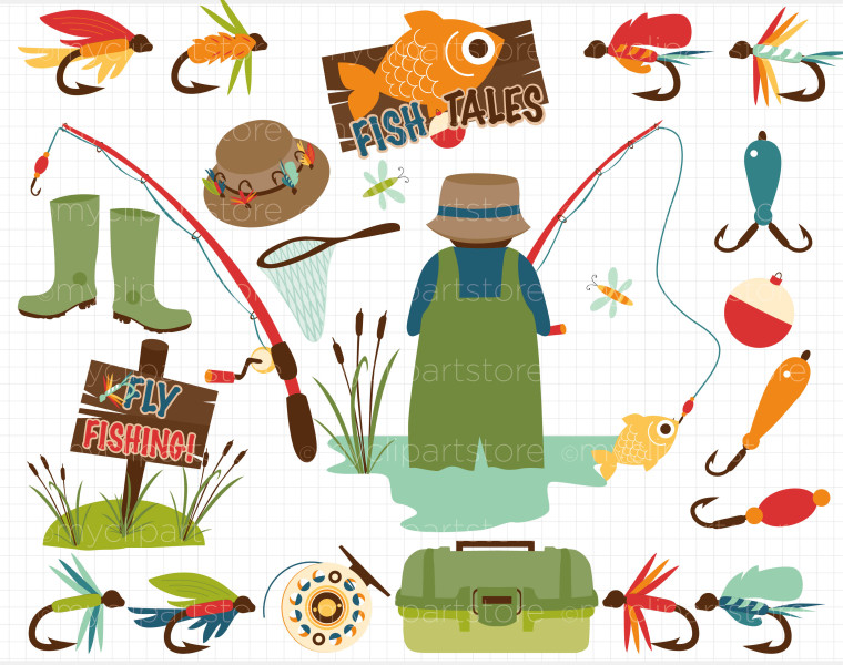 Fisherman hat clipart.