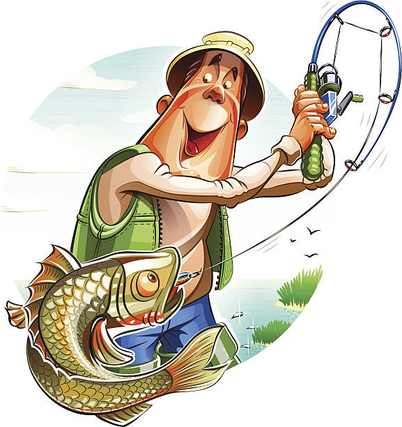 Best Fisherman Illustrations, Royalty.