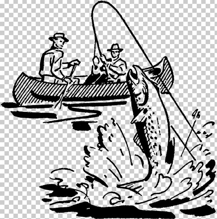 Fishing Fisherman Drawing PNG, Clipart, Artwork, Black.