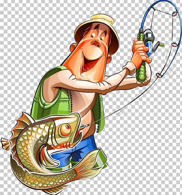 Fishing Cartoon Fisherman PNG, Clipart, Art, Cartoon, Clip.