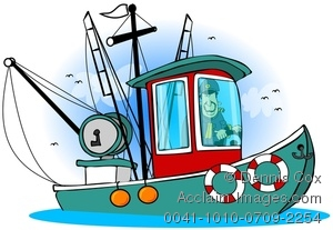 Fisherman in boat clipart 10 » Clipart Station.