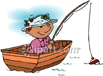 Fisherman in boat clipart 8 » Clipart Station.