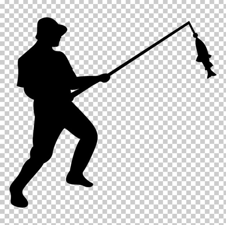 Fishing Fisherman Silhouette PNG, Clipart, Angle, Black, Black And.