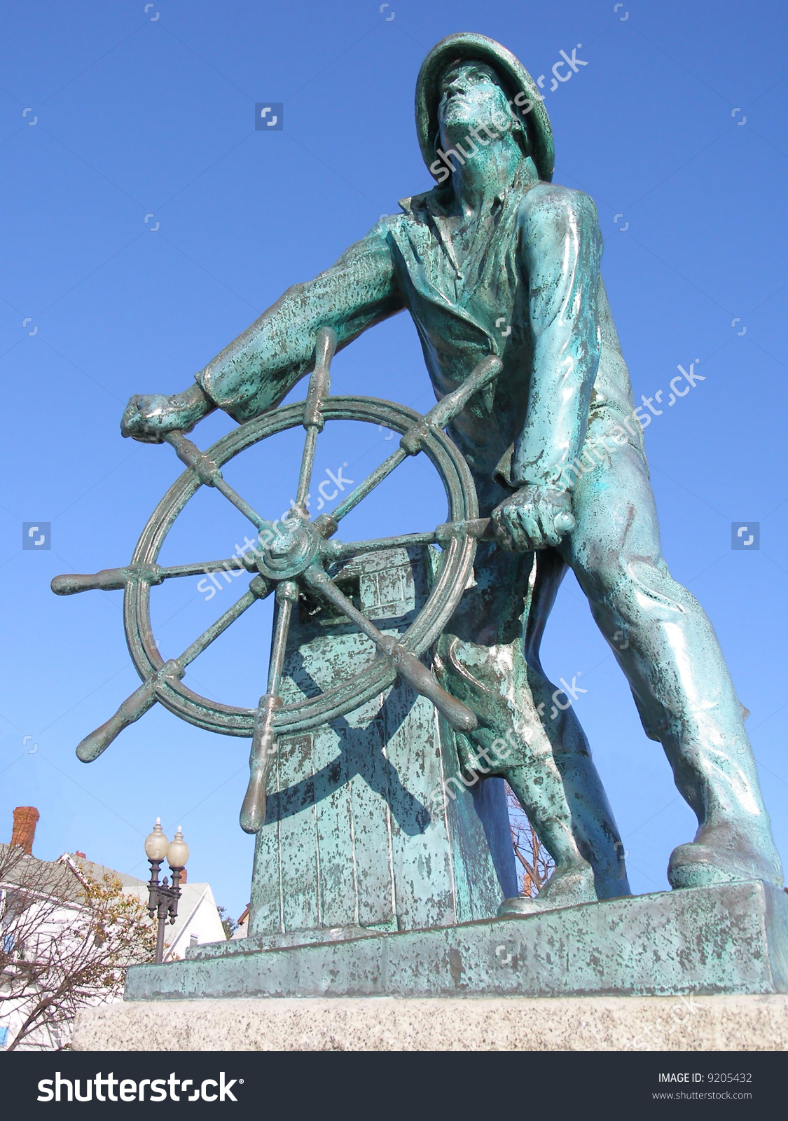 Fisherman Statue, Gloucester, Massachusetts. In Memory Of.