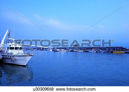 Pictures of Asia, Taiwan, Danshui Fisherman's Wharf u30309658.