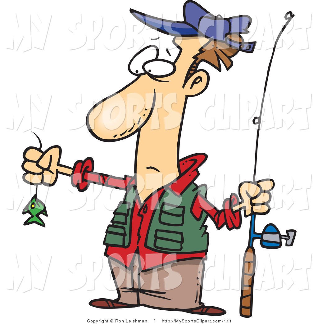 Clipart fishing fisherman.