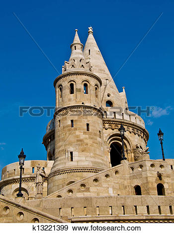 Stock Photograph of Fisherman's Bastion k13221399.