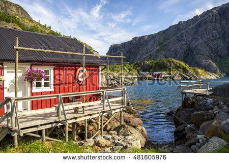 """fisherman Cottage"" Stock Photos, Royalty."