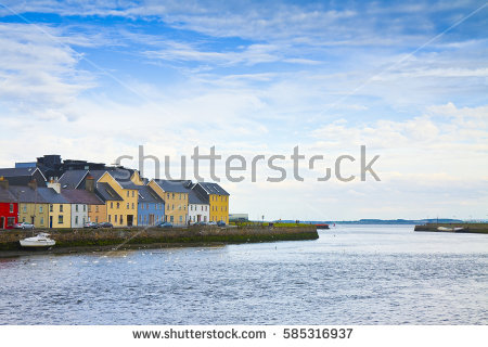 Fishermen's Houses Stock Images, Royalty.
