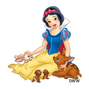 Snow White Clipart from Disney's Snow White and the Seven Dw.