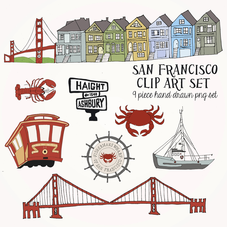 Art Calendar San Francisco : Fisher s wharf clipart clipground